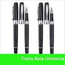 Top quality cheap custom black pen with logo