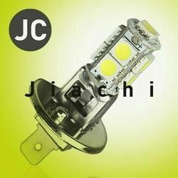 conversion car parts h1 led headlight 5050 9 smd electric p13w auto led fog light car use
