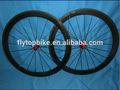 Enclume de carbone, Fiber roues, Chine 38 mm brillant finition 700c, Route de carbone roue