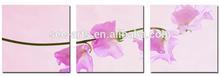 Blooming Purple Flower Painting Wall Art