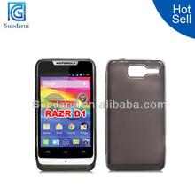 TPU gel case Cover for Motorola Razr D1