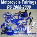 Atacado 2008-2009 para yamaha r6 moto carenagem kit fiat ffkya011 star