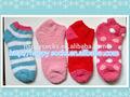2014 caliente de la venta de las niñas jóvenes de diseño de moda knittted suave microfibra chiniller calcetines casa( gr01)
