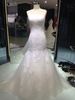 2014 Custom Beaded Layers lace long sleeve wedding gown