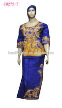 Damask, Guinea Brocade clothing