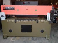 precision hydraulic 4-column paperboard die cutting machine supply