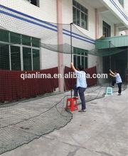 Qianlima Sports 55*12*12Feet Braided Batting Cage Net