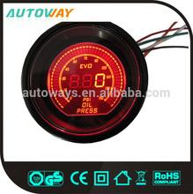 52mm Black Face Red LED egt gauge