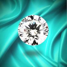 1 Carat Cubic Zirconia Zircon Stone Diamond Simulate