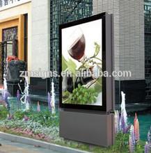 Customized outdoor led acrylic signage