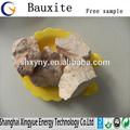 Bauxite producto de la fábrica 80% AL2O3 calcinado bauxite precio