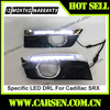 ABS Material -with dimming function -Car Specific Daytime Running Lights For Cadillac LED DRL For Cadillac SRX
