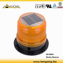 HX-SB04 magnetic Solar flashing amber light
