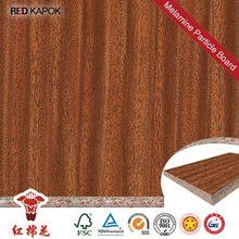 All types of hot sale melamine faced chipboard office desk e2 glue Red Kapok