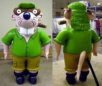 inflatable costume Beaver,advertisement inflatable beaver cartoon