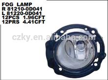 2007 TOYOT AVANZA FOG LAMP R 81210-0D041 L 81220-0D041 DEPO : 212-2063-AQ/UQ 212-2063P-AQ