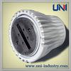 UNI40006 custom die casting aluminum radiator with powder painting