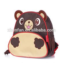 lovely brown bear children cartoon bags