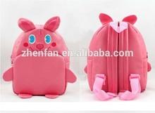 pink rabbit kids animal bag