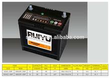NS40 JIS STD 12V 36AH Maintenance free Automotive Lead acid CAR Battery