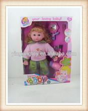 hot sale 16 inch kids cute stuffed sex doll