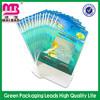 More style options waterproof clear plastic zipper garment bags