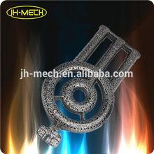 High pressure cast iron wok gas burner