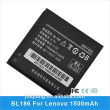 Genuine 1500mAh 3.7V Li-ion Battery BL186 for Lenovo Mobile Phone Batteries