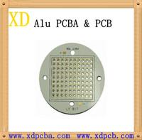OSP UL 94v0 multilayer aluminum pcb with round shape