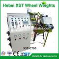 Roda de carro equilíbrio de peso máquina