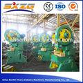 mecánica de acero hoja de la placa de alimentación de la máquina de la prensa