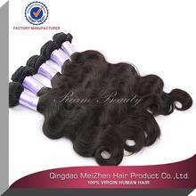 2014 super quality 5a unprocessed raw virgin brazilian hair extenion