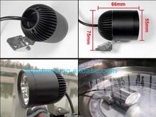 30w 3000lm 4*u2 cree waterproof led light snowmobile parts