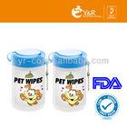 2014 hot sale pet wipe