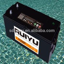 Hot export high quality 220 amp car battery truck battery