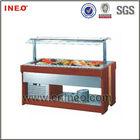 Buffet Wooden Salad Bar Refrigerator Sale/Salad Counter/Salad Bar Counter