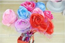 2014 Hot sell flower design ballpoint pen good for promotion and student award