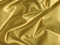 100% Polyester Woven Gold Satin Fabric For Apparel