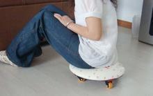 pvc cushion with wheel mat picnic mat Yoga cushion yoga mat outdoor cushion