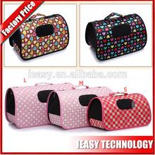pet dog sleeping bag bed with polyester fabric pet travel bag