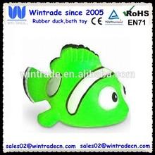 Water toys plastic animal clown fish