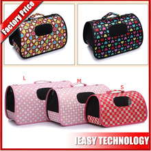 Foldable Zipper Tote Bag air conditioned pet carrier