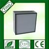 Glass fiber f6 f7 f8 deep pleat metal frame havc air filter box