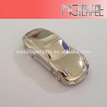 3D Gold car /custom Keychain/3D metal model
