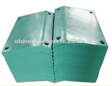 Edge/corner Marine fender panel,UHMW PE marine board,UV resistant uhmwpe board
