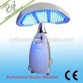 Guangzhou byi-c002 photon led de rejuvenecimiento de la piel de fotones de la terapia pdt máquina