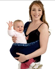 2014 hot selling cotton muslin baby carrier wrap item no.5008