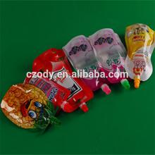 Plástico del manufactory de china bolsas de plástico tapas y los canalones