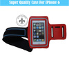 2.0mm Velcro Mobile Phone Sport Armband Pouch Case For iPhone 6 O8110-151