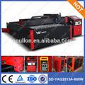 Sd-yag2513a-600w nd yag do laser do cnc folha de metal manual máquina de corte